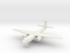 (1:144) Arado Ar 234B w/ Tail Radar (Gear down) in White Natural Versatile Plastic