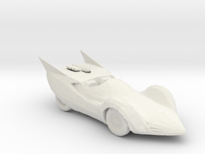 Shooting Star 160 scale in White Natural Versatile Plastic