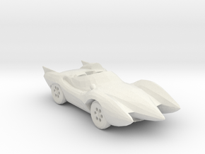 Mach 5 160 scale in White Natural Versatile Plastic