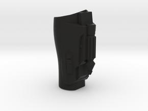 Sixth Scale ARC left gauntlet  in Black Natural Versatile Plastic