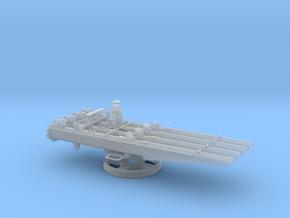 1/48 21in Quadruple Torpedo Tubes Closed in Smooth Fine Detail Plastic