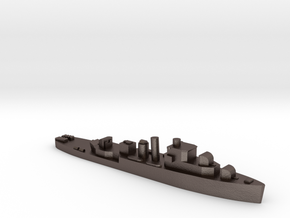 HMS Bittern 1:2400 WW2 sloop in Polished Bronzed-Silver Steel