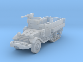 M9A1 Halftrack 1/220 in Smooth Fine Detail Plastic