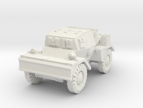 Daimler Dingo mk2 (closed) 1/72 in White Natural Versatile Plastic