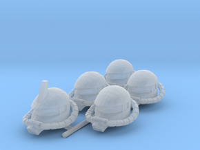 Zaku Heads for Space Marines in Smooth Fine Detail Plastic