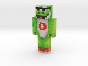 ThePowerfulYoshi | Minecraft toy in Natural Full Color Sandstone