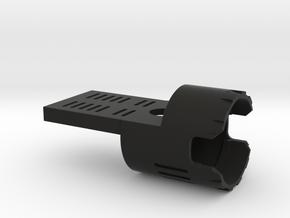 89 Qui-Gon speaker holder 28mm in Black Natural Versatile Plastic