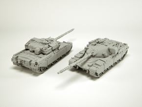 Main Battle Tank Chieftain MK6 Scale: 1:200 in Smooth Fine Detail Plastic