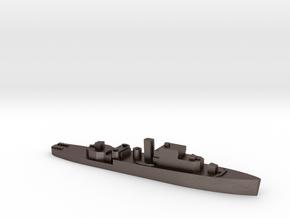 HMS Grimsby 1:3000 WW2 escort sloop in Polished Bronzed-Silver Steel