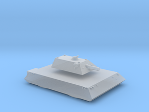 Tiger Heavy Grav Tank 15mm in Smooth Fine Detail Plastic