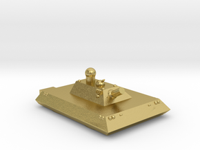 Cheetah Heavy Grav Self Propelled Gun 15mm in Natural Brass
