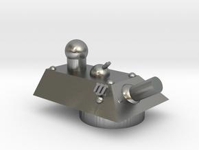 Cheetah Heavy Grav Self Propelled Gun Turret 15mm in Natural Silver