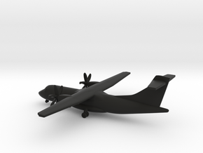 ATR 42 in Black Natural Versatile Plastic: 1:350