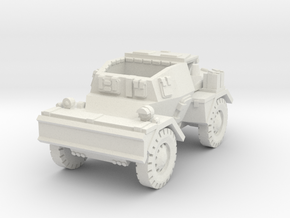 Daimler Dingo mk2 (open) 1/87 in White Natural Versatile Plastic