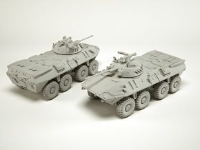 BTR-90 (GAZ-5923) APC scale: 1:100 in Smooth Fine Detail Plastic