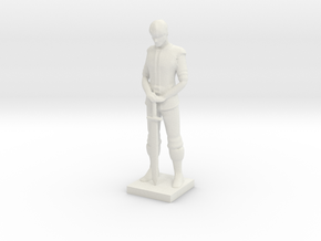 Printle V Homme 657 - 1/24 in White Natural Versatile Plastic