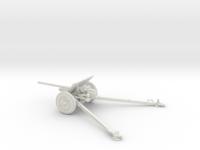 1/35 IJA Type 1 47mm anti-tank gun in White Natural Versatile Plastic