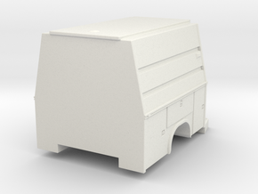 1/87 Scuba/Dive V2, Support or Maintenance Body in White Natural Versatile Plastic