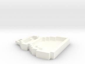 Pixel Art  - Bag in White Processed Versatile Plastic