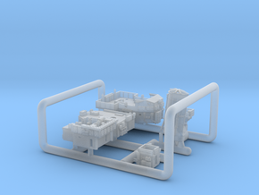 700_Liddesdale_Sprue_Deckhouses in Smoothest Fine Detail Plastic
