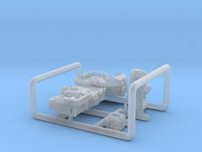 600_Liddesdale_Sprue_Deckhouses in Smoothest Fine Detail Plastic