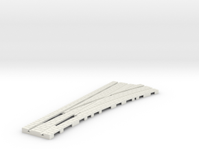 p-14st-right-point-100-1a in White Natural Versatile Plastic