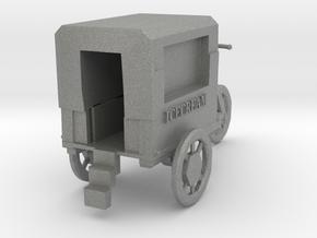 TT Scale Icecream Mobile in Gray PA12