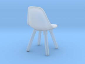 1:16 Miniature Eames DSW (Kids Chair Version) in Smooth Fine Detail Plastic