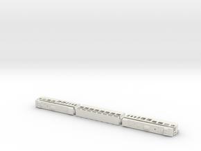 wengernalpbahn BDhe 4/8 pano h0e work in progress  in White Natural Versatile Plastic