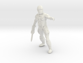 Sith Trooper Captain in White Natural Versatile Plastic