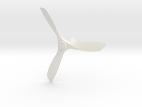 Modern ceiling fan in White Natural Versatile Plastic
