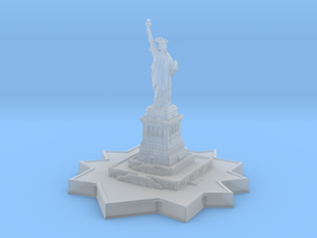 Statue of Liberty 1/1200 in Smooth Fine Detail Plastic