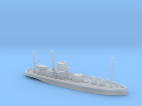 1/600 Scale Steam Tanker Ondee 1934 in Smooth Fine Detail Plastic
