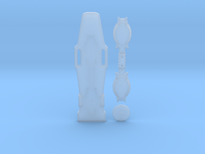 1/8 Scale Rising Sun Hoverboard Mini Replica in Smoothest Fine Detail Plastic