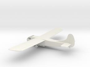 1/100th scale Waco CG-4 in White Natural Versatile Plastic