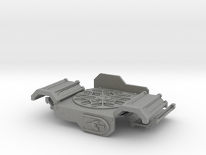 Rhinoceros mk2 Armor Plate Gothic ptrn. (Rosette) in Gray PA12