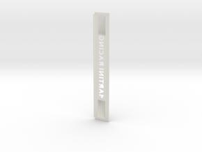 """Lancia Delta 1 """"Martini Racing"""" window Shield 4 in White Natural Versatile Plastic"""