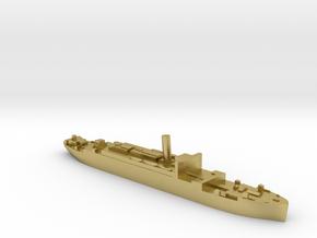 HMS Jervis Bay 1:2400 Armed Merchant Cruiser in Natural Brass