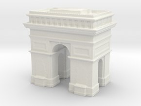 Arc de Triomphe 1/500 in White Natural Versatile Plastic
