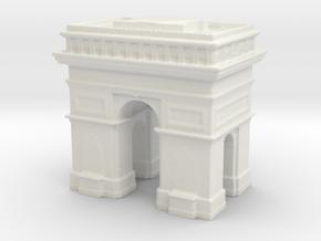 Arc de Triomphe 1/500 in White Natural Versatile Plastic