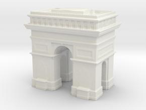 Arc de Triomphe 1/700 in White Natural Versatile Plastic