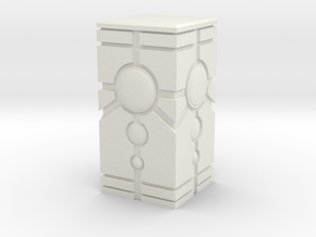 DeathBot Crypt Pillar Terrain in White Natural Versatile Plastic