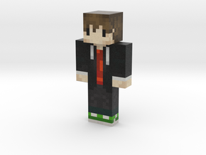 SushiSkeleton | Minecraft toy in Natural Full Color Sandstone