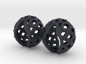 Metal Filigree Joints (wrists) in Black PA12