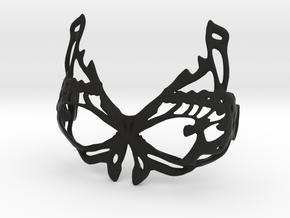 DIY Assembly Bra - butterfly design 2 in Black Natural Versatile Plastic