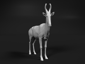 Lelwel Hartebeest 1:87 Standing Male in Smooth Fine Detail Plastic