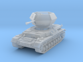 Flakpanzer IV J Ostwind 1/72 in Smooth Fine Detail Plastic