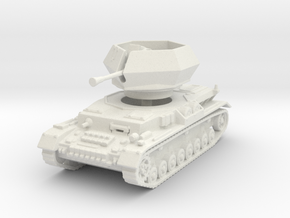 Flakpanzer IV J Ostwind 1/120 in White Natural Versatile Plastic