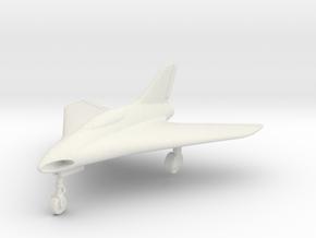 (1:144) Lippisch P.15 Entwurf 1 in White Natural Versatile Plastic
