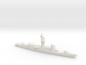 1/600 Scale Baleares class Missile Frigate in White Natural Versatile Plastic